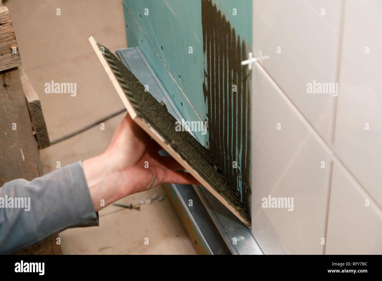 Piastrelle come funziona correttamente riparazione e