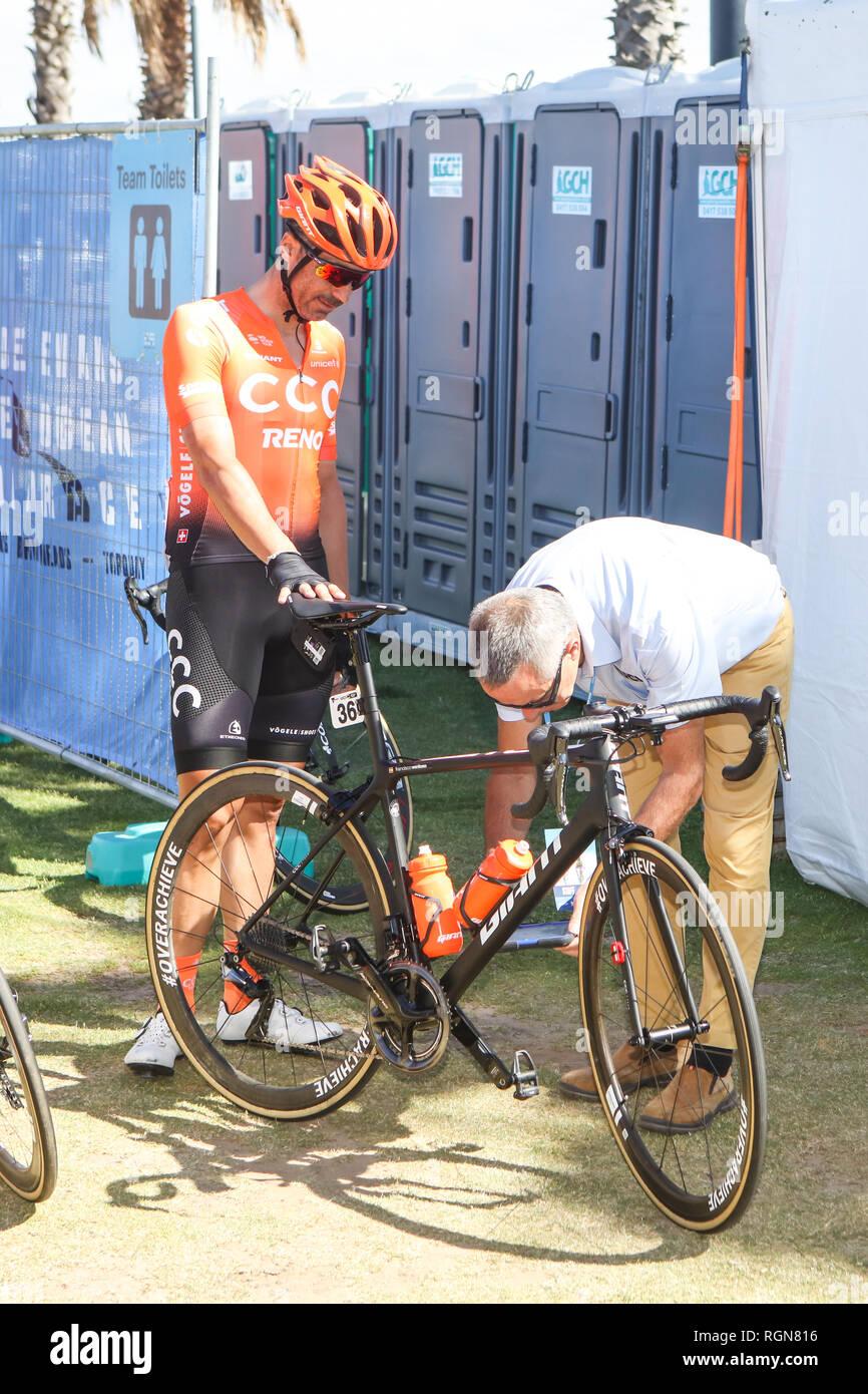 Cadel Evans Great Ocean Road Race - Elite Mens Immagini Stock