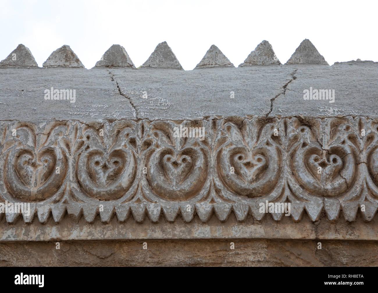 Pareti Esterne Casa : Decorazioni di gesso delle pareti esterne di una casa farasani