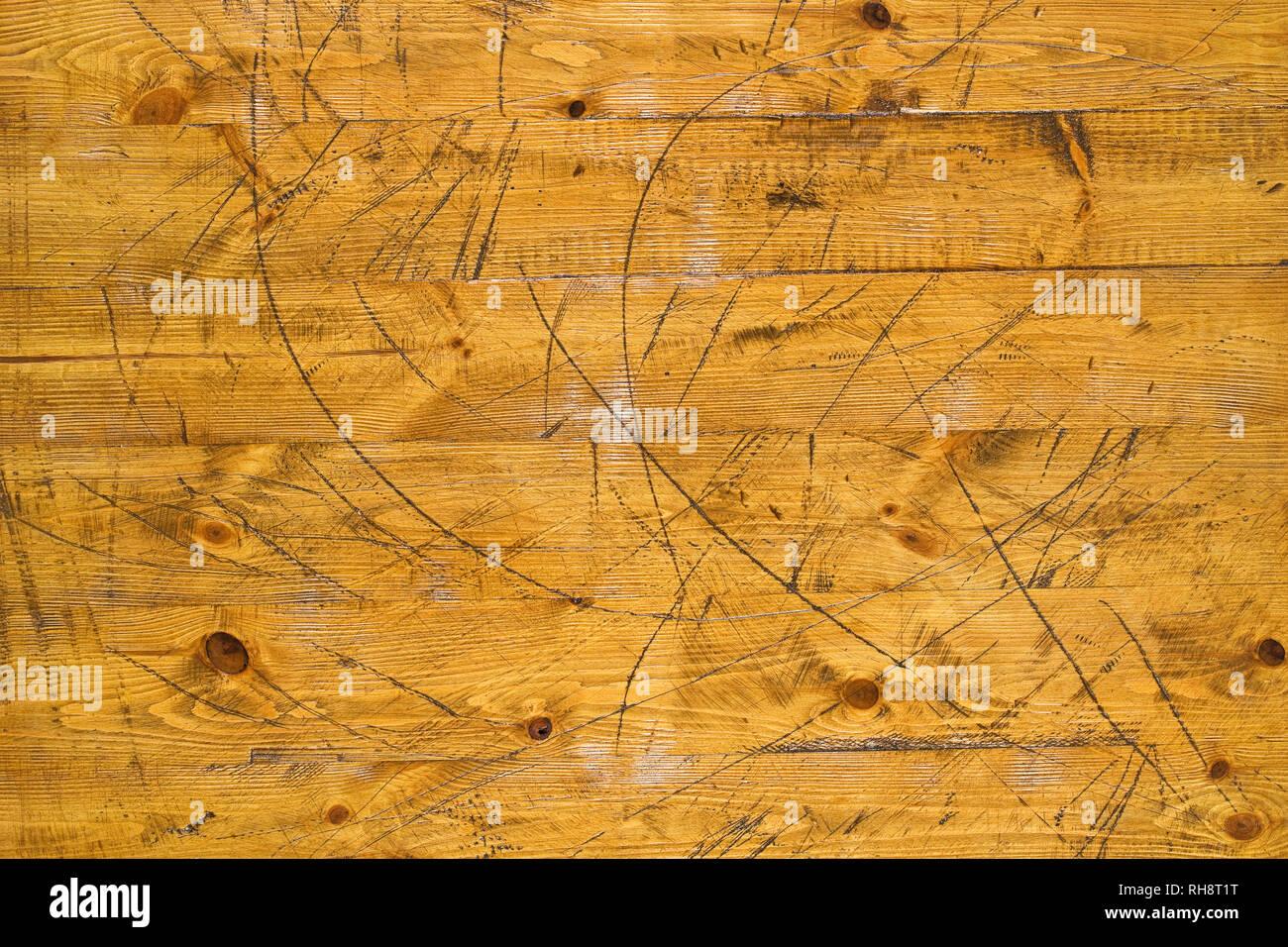Marrone Vintage verniciato vecchio rustico in legno doghe orizzontali  texture di muro di sfondo. Sbiadita 1666c10ec0cc