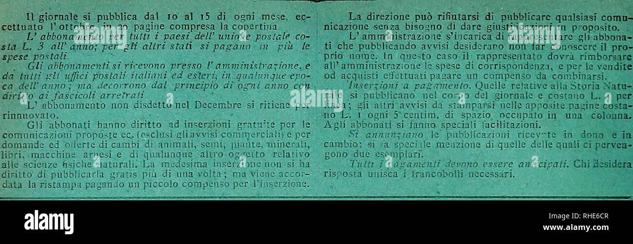 """. Bollettino del naturalista :. Storia naturale; scienza. .A.""""V^""""^E^LTEllSrz:El. iiiO :x'.::;x^ 'M 0;;;! S,^i c;e, s ;;. .;.; ji: j, U;;-:; :i;i. es(;t]::.:, Ili, 'Irne una nuabin^Hie 'varietà ⠢ â â """"0 '; -- l^'liìKii'U """" : :"""" MILA 0 â V 1â1 ^â """".ikl JITA^Ia'il-C^^ J.V I2i 6 Ogni bicchierino coiucns mi7 cenu^""""c ci T, ^tt^^tat^ â R. EsPi'cito Itiliaiio COMANDO SUPERIORE 1 ho delle truppe ui AFRICA 0 H I T F 1 C f UlTiciti del CGBaE[i3 i e io 11 11 ] 1 ' """" 1 1 0 ic """"30 0 s t K. 3G2 di -prolocvllo ( f S 1 e 1 1 OGGETTO """"- ^ ' Circa i'esperiìiifn Foto Stock"""