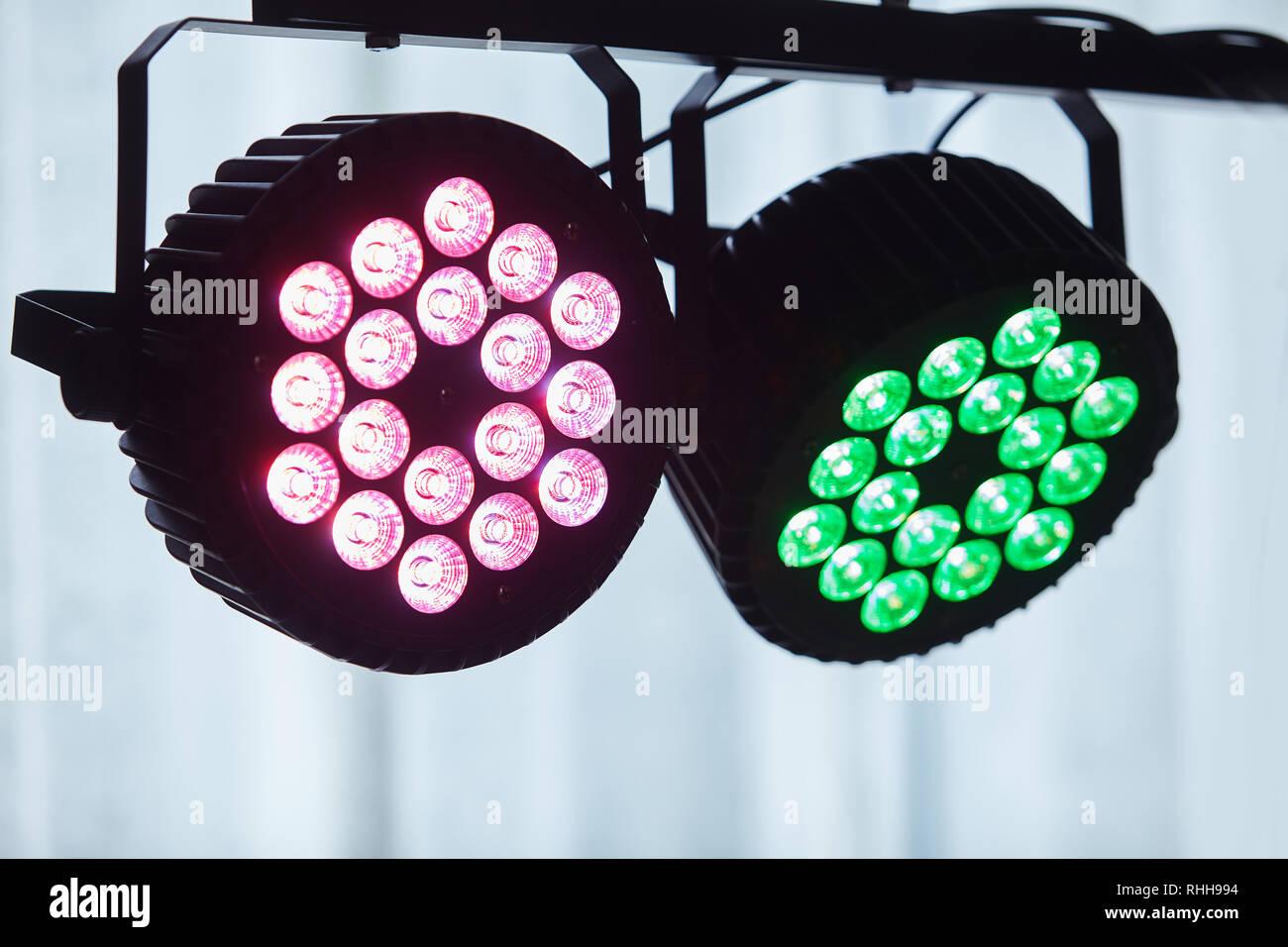 Led di apparecchiature di illuminazione led forstage professional