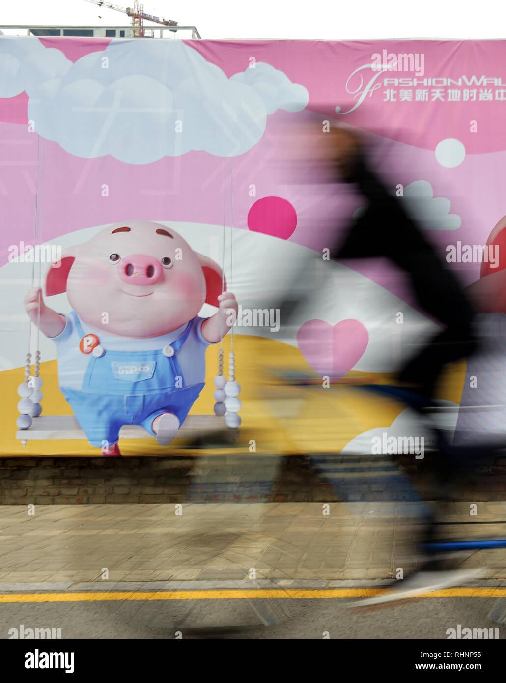 Toogoo maiale simpatico cartone animato gettone per monete regalo