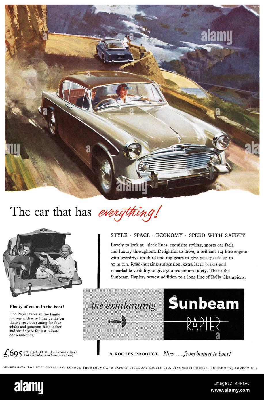 Vintage British automobili. British Classic Cars TRIUMPH Herald Pubblicità metallo segno