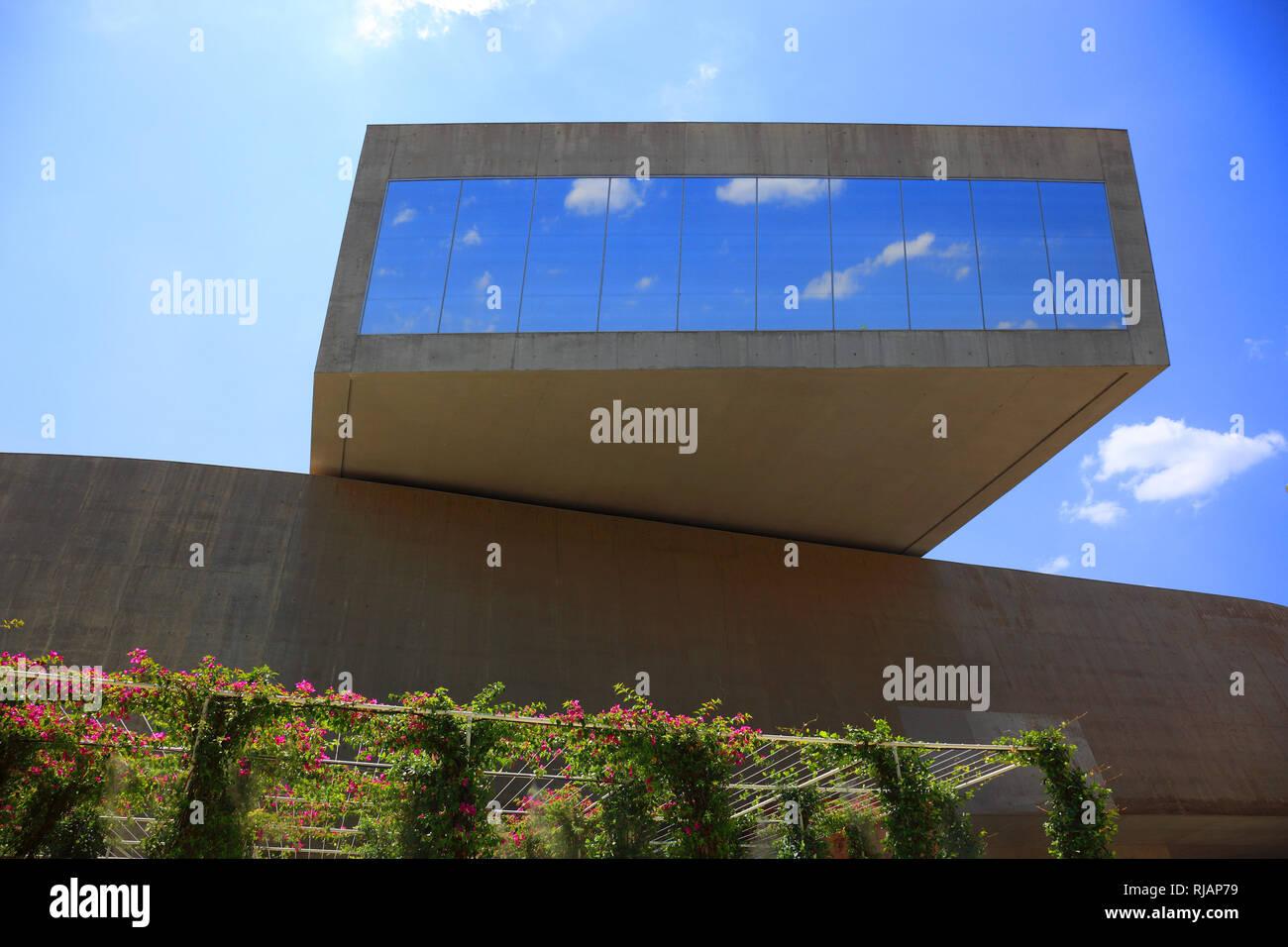 Il MAXXI, Museo nazionale delle arti del XXI secolo e il museo nazionale del XXI secolo le arti, un museo nazionale di arte contemporanea e architettura in Immagini Stock
