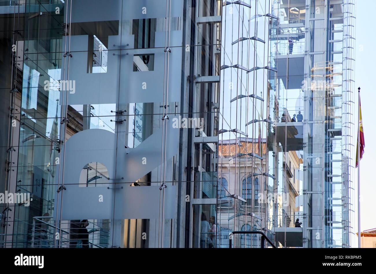 Museo Nacional Centro de Arte Reina Sofia, Madrid, Spagna, Europa Immagini Stock