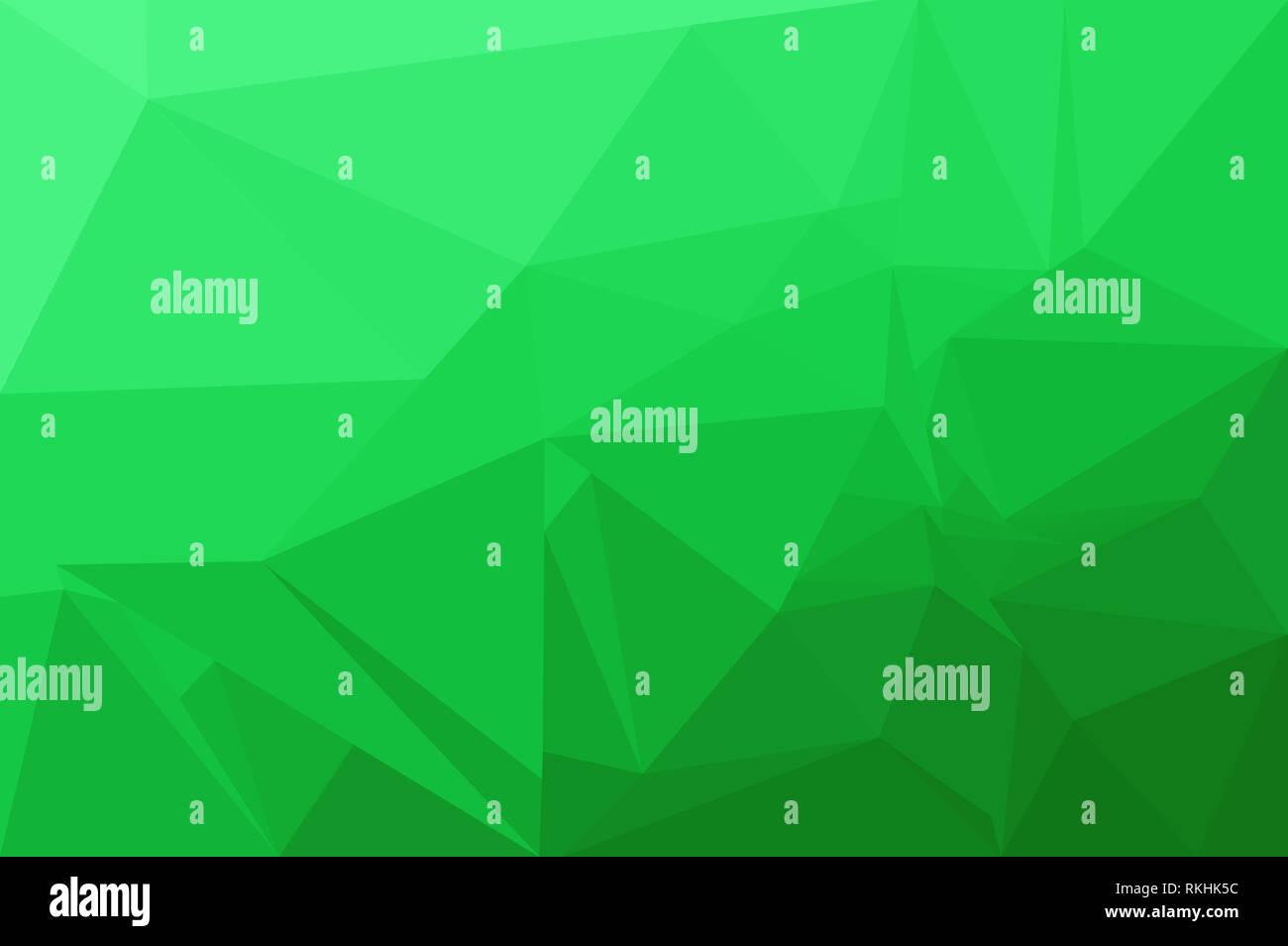 Neon Astratta Sfondo Verde Costituito Da Triangoli Foto Immagine