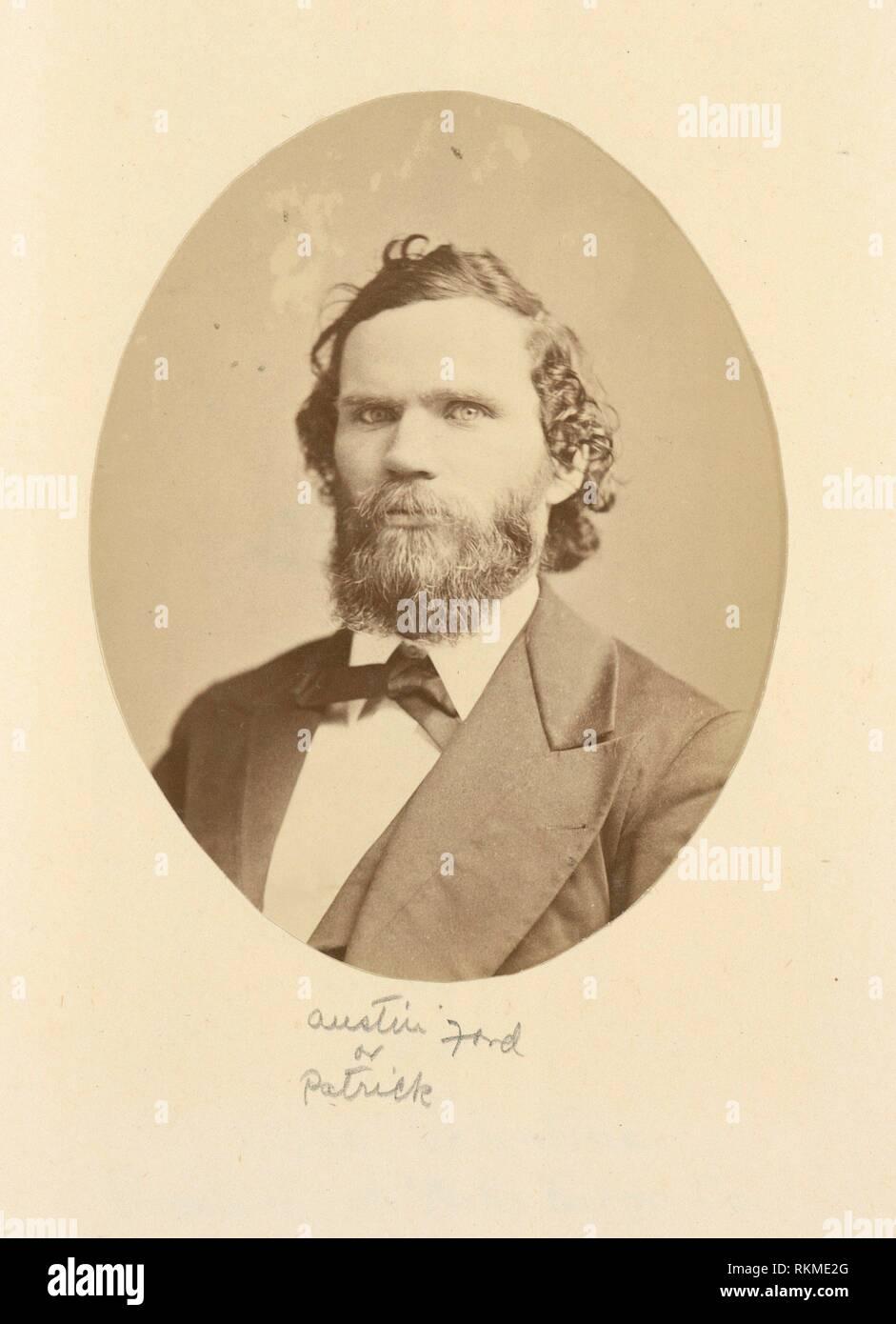 Austin o Patrick Ford?. La tassa unica: album di fotografie. Data di creazione: 1800 - 1899 (approssimativo) altri Data: [Data non disponibile]. Singola Immagini Stock