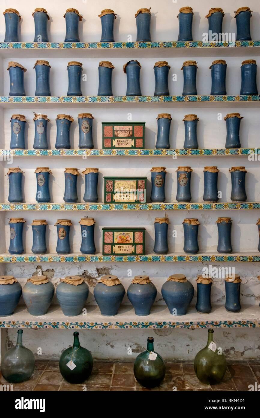 Museo Etnológico de Muro (sección del Museo de Mallorca) può Alomar. , Muro, Pla de Mallorca, centro-norte de la Isla, Maiorca, isole Baleari, Immagini Stock