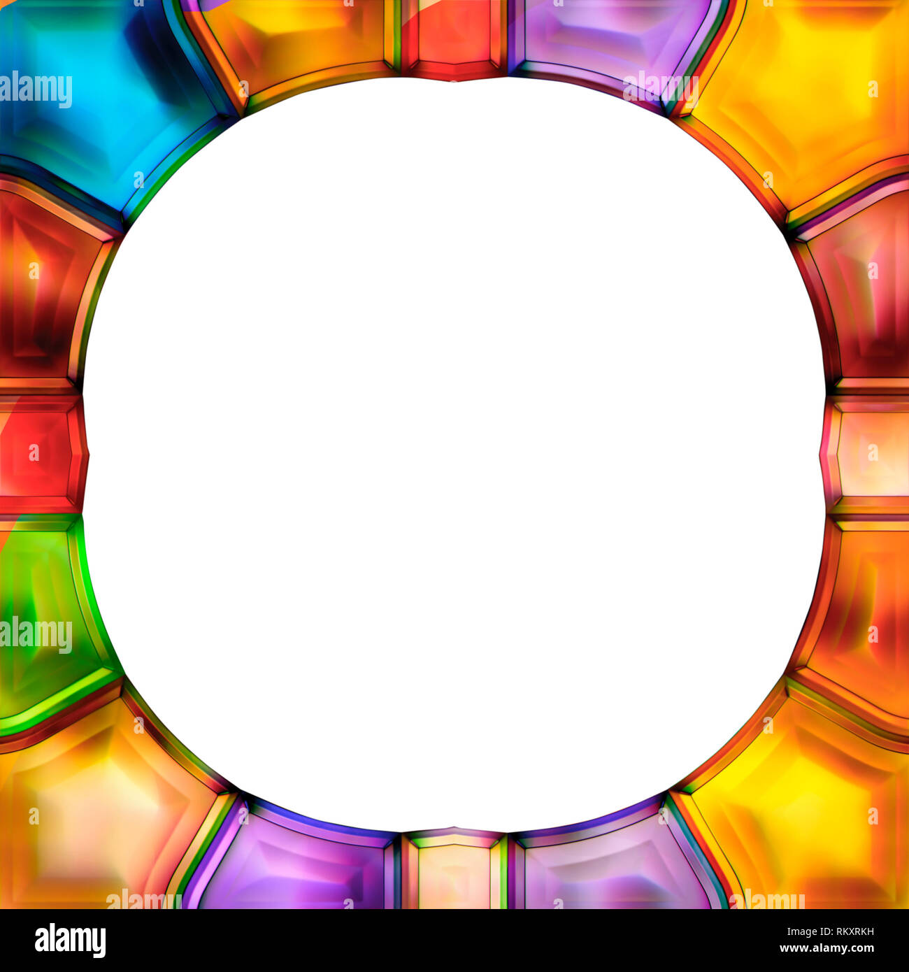 Cornici Colorate Per Foto elegante cornice per foto. bordo colorato disegno di fondo