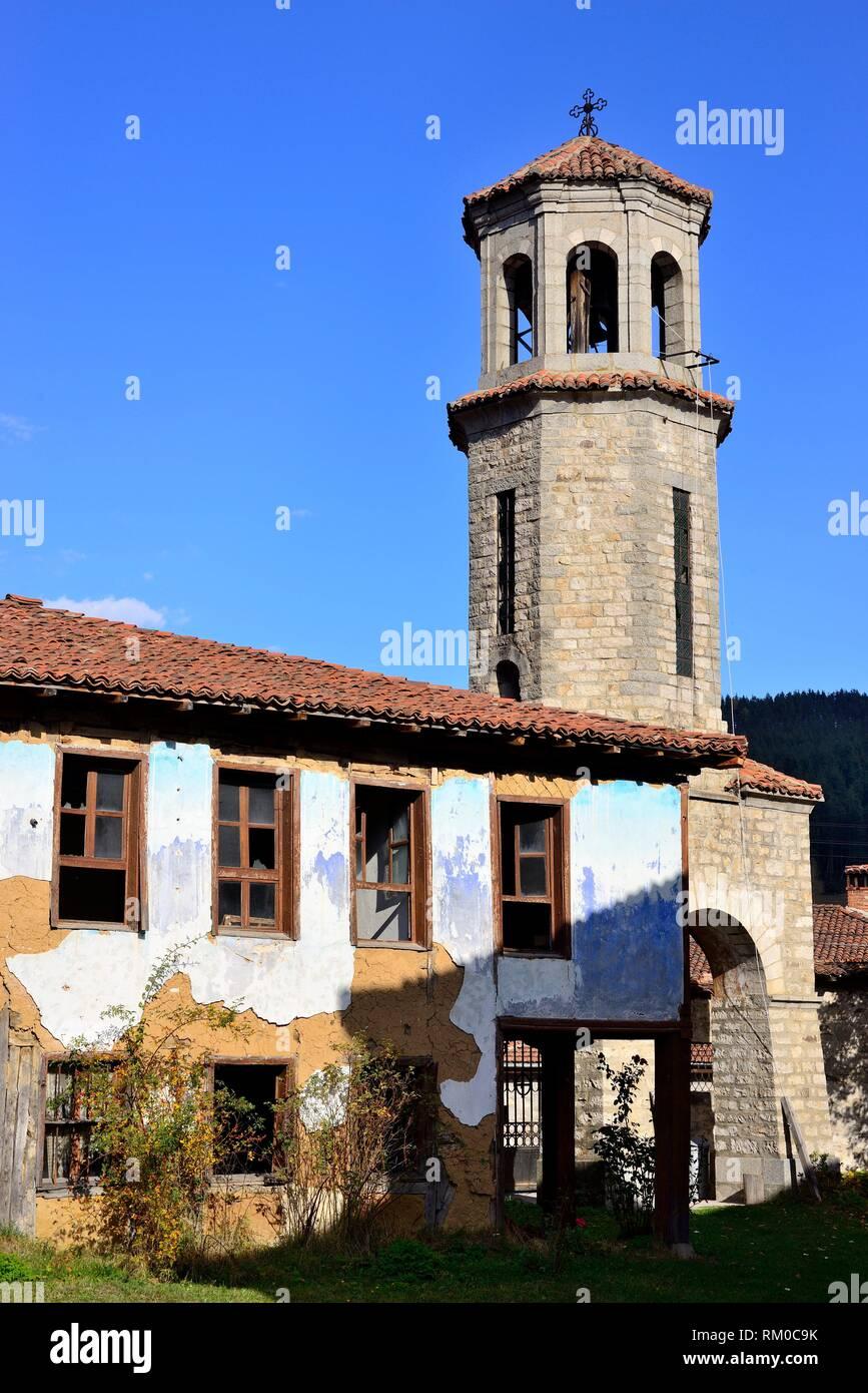 Chiesa di Sveta Nikola, Koprivstica, Bulgaria. Foto Stock