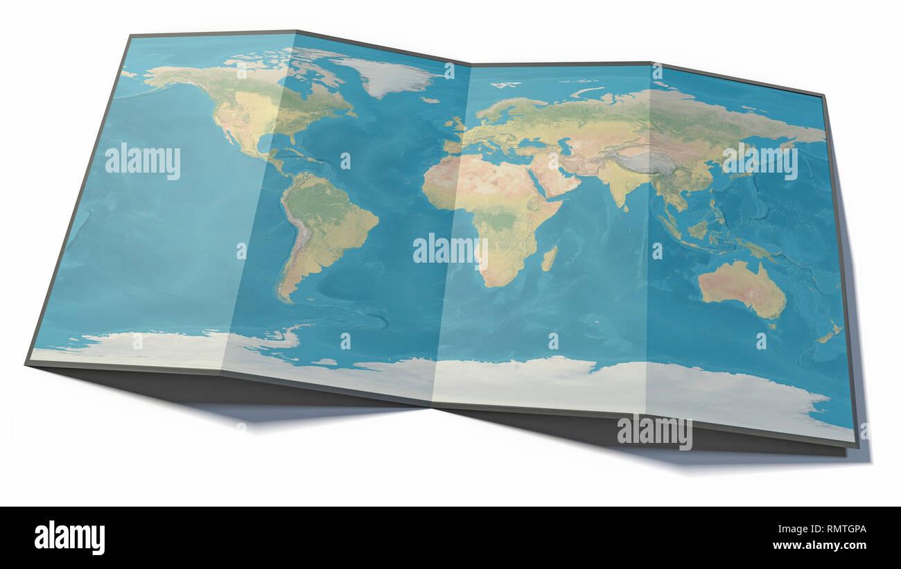 Mappa Fisica Mondiale Immagini Mappa Fisica Mondiale Fotos Stock