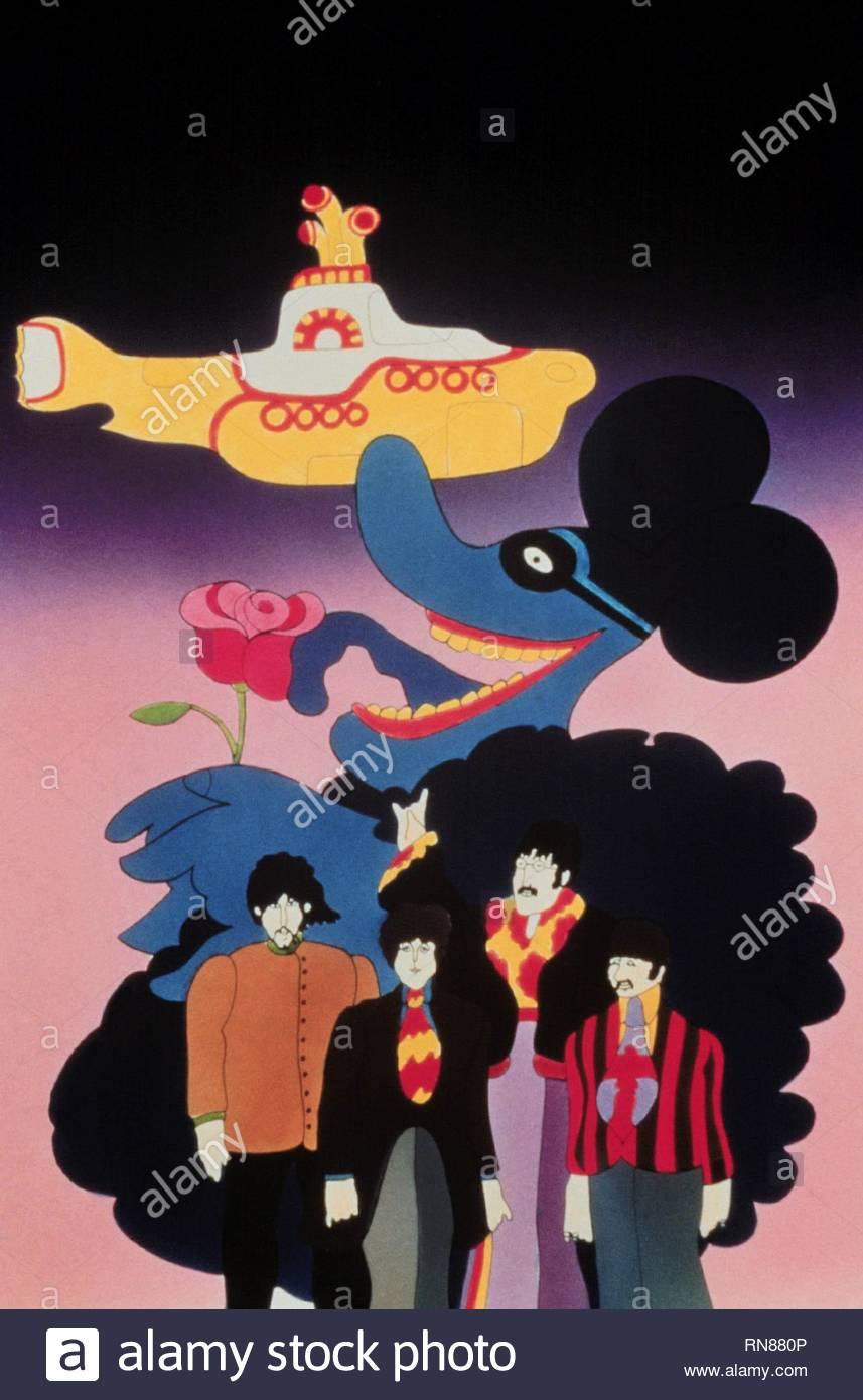Beatles yellow submarine film immagini & beatles yellow submarine