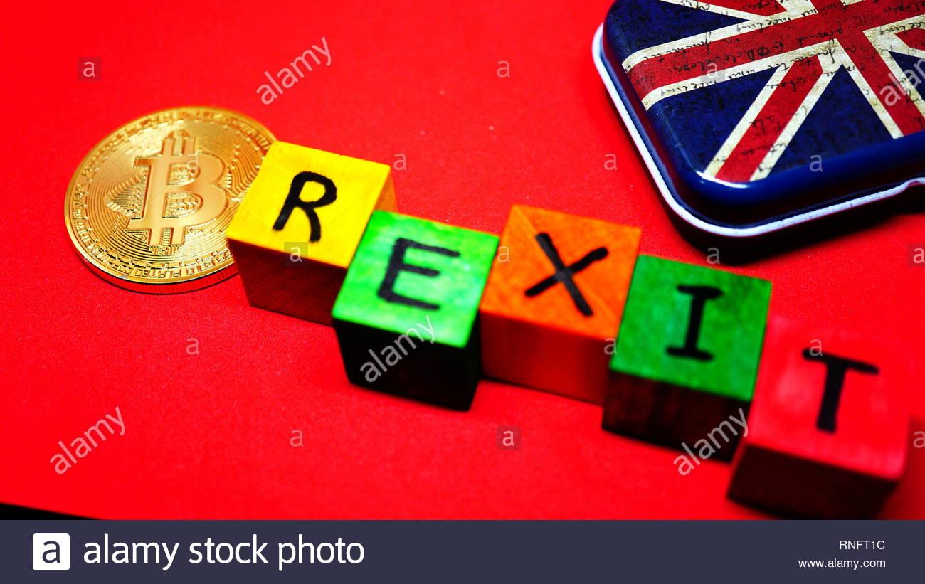 Uk Flag Brexit Word Immagini Uk Flag Brexit Word Fotos Stock Alamy