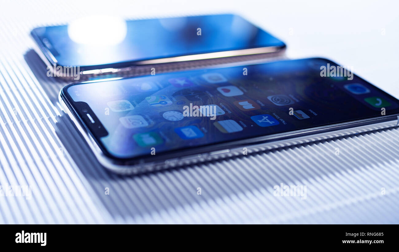 Iphone X Mockup Immagini Iphone X Mockup Fotos Stock Alamy