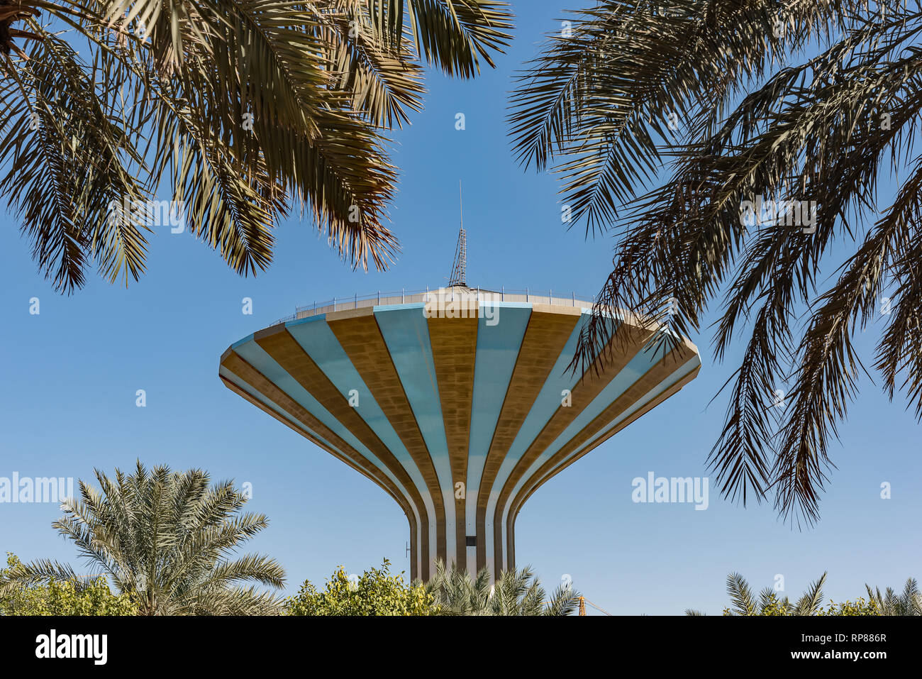 A Riyadh Water Tower Immagini Stock