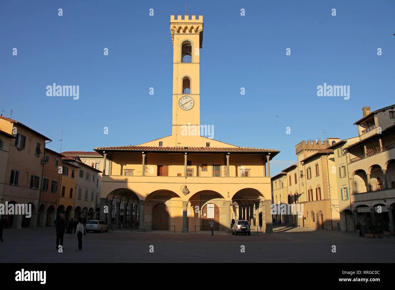 San Giovanni Valdarno, Toscana, Italia, Europa Foto Stock