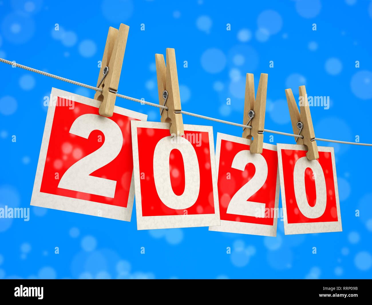 Calendario Taglio Legna 2020.2020 Calendar Immagini 2020 Calendar Fotos Stock Alamy