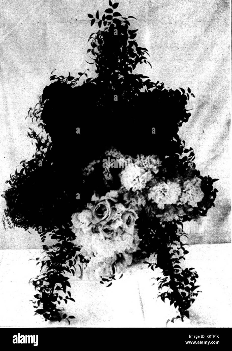 """. Fioristi' review [microformati]. Floricoltura. ALGCST 6, 1914. I fioristi^ Rassegna 13 i morti non è affatto lodevole, e quindi siamo diretti che l' uso di fiori all'obsequies nella chiesa non deve essere consentito in futuro. """"Questa lettera dovrebbe essere letta e il suo scopo ha spiegato al popolo la domenica dopo il suo ricevimento e anche in occasioni in cui accordi per i funerali vengono effettuate."""" I BUSINESS EMBARRASSMENTS. Orand Rapids, Michigan.-Il seguente è il programma presentato al tribunale distrettuale degli Stati Uniti qui 24 luglio dalla H. A. Fisher Co., di Kalamazoo, Mich, che ha chiesto di Immagini Stock"""