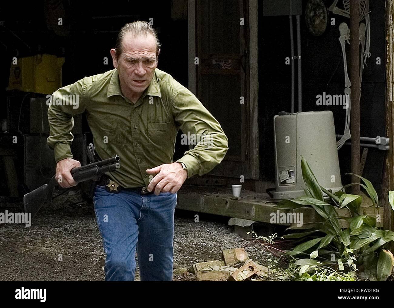 TOMMY LEE JONES, NELLA NEBBIA ELETTRICO, 2009 Immagini Stock