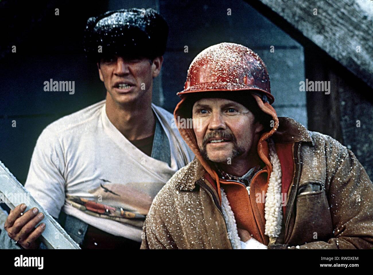 ROBERTS,VOIGHT, treno impazzito, 1985 Immagini Stock