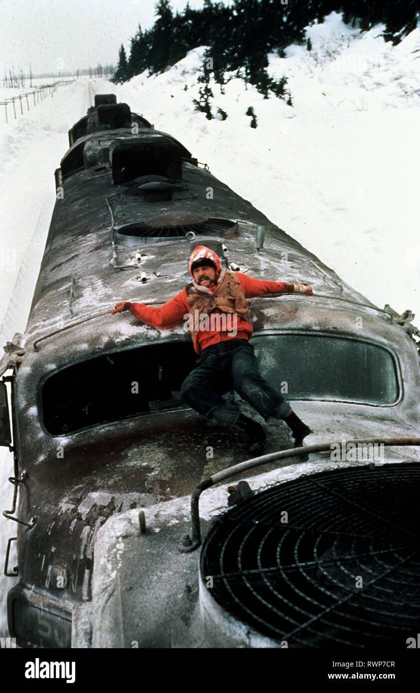 JON VOIGHT, treno impazzito, 1985 Immagini Stock