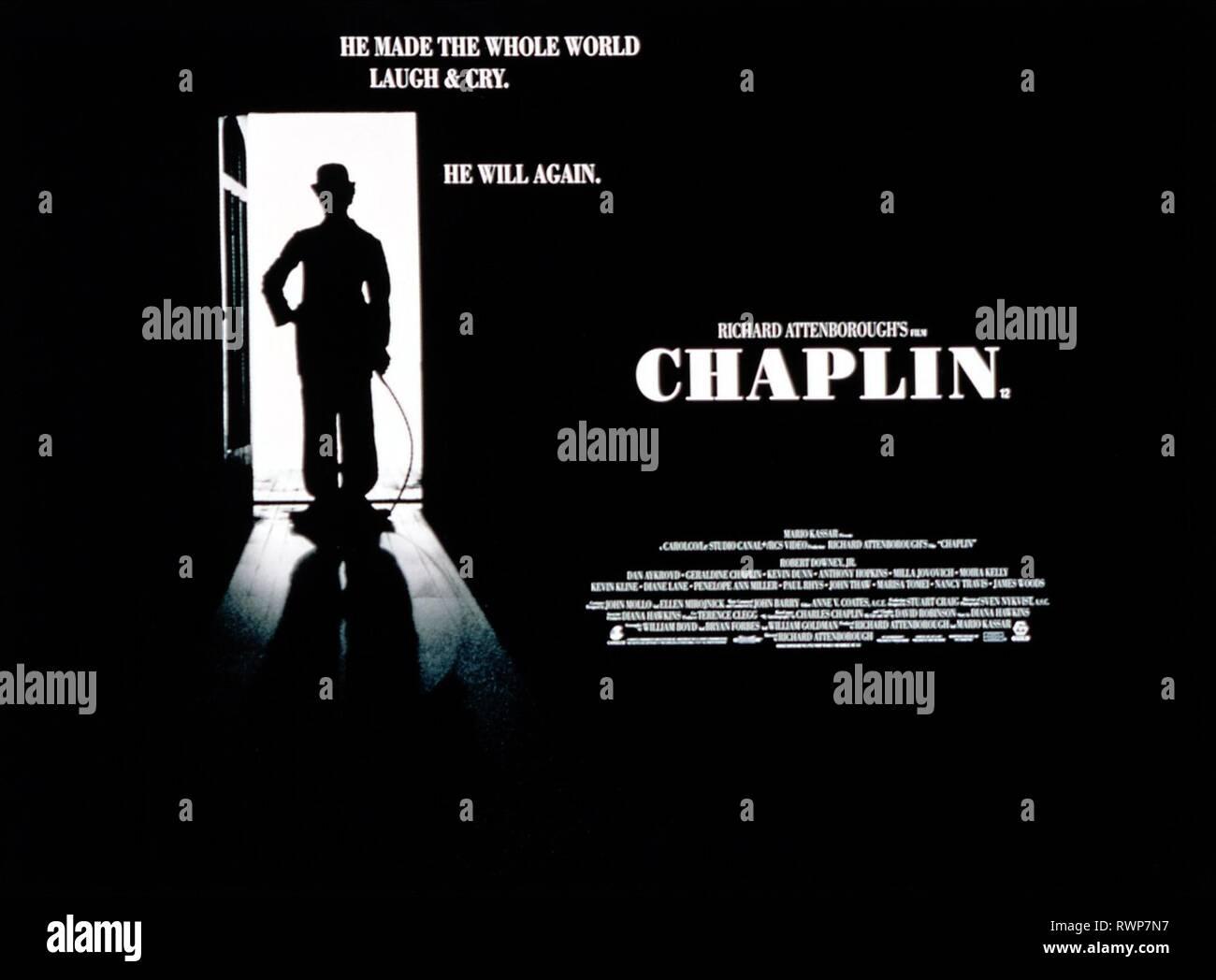 Chaplin 1992 Immagini e Fotos Stock - Alamy