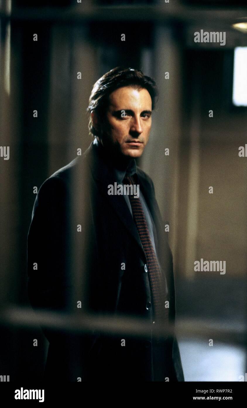 ANDY GARCIA, ritorto, 2004 Immagini Stock