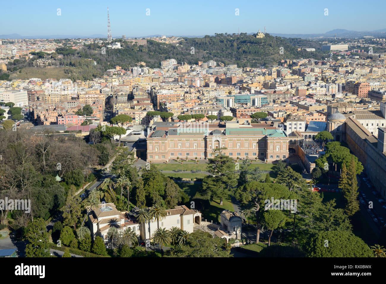 Museo Del Vaticano.Veduta Aerea Museo Del Vaticano La Pinacoteca Vaticana Galleria D