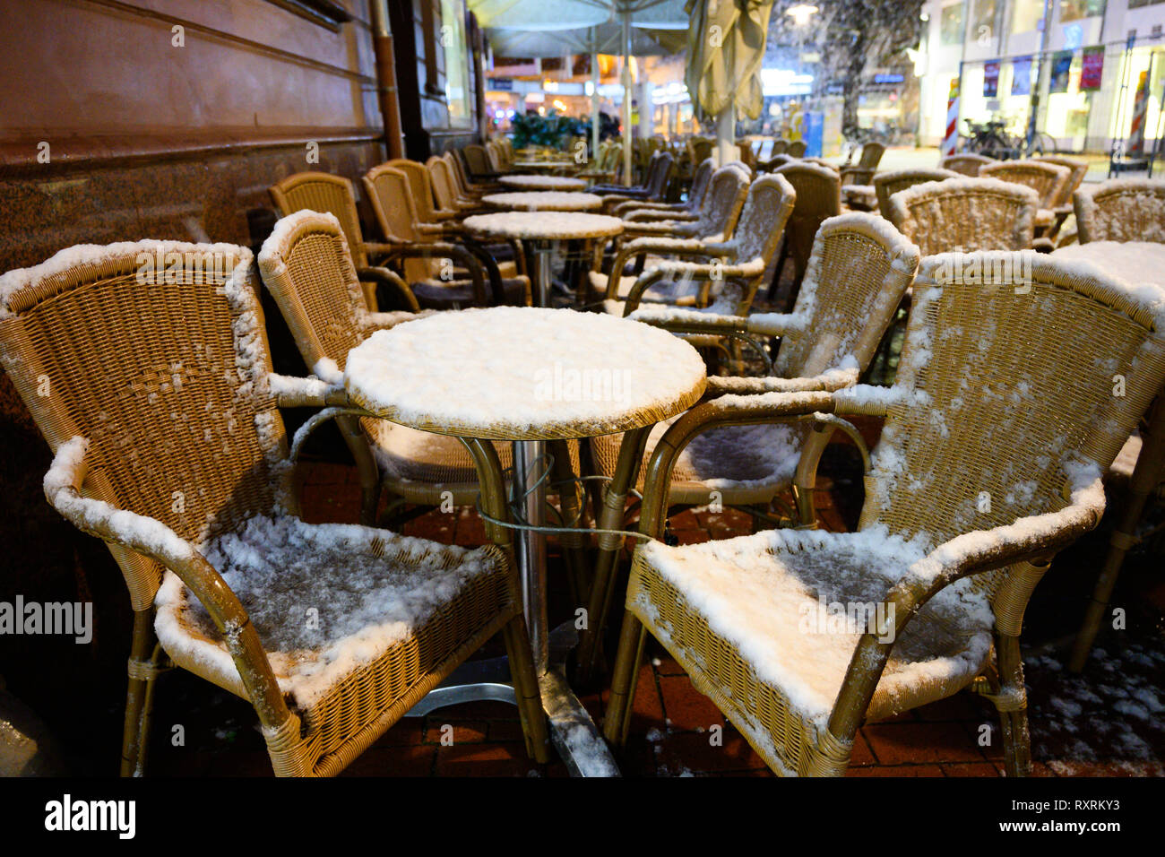 Mar Sedie E Tavoli.Hannover Germania Decimo Mar 2019 Le Sedie E I Tavoli In