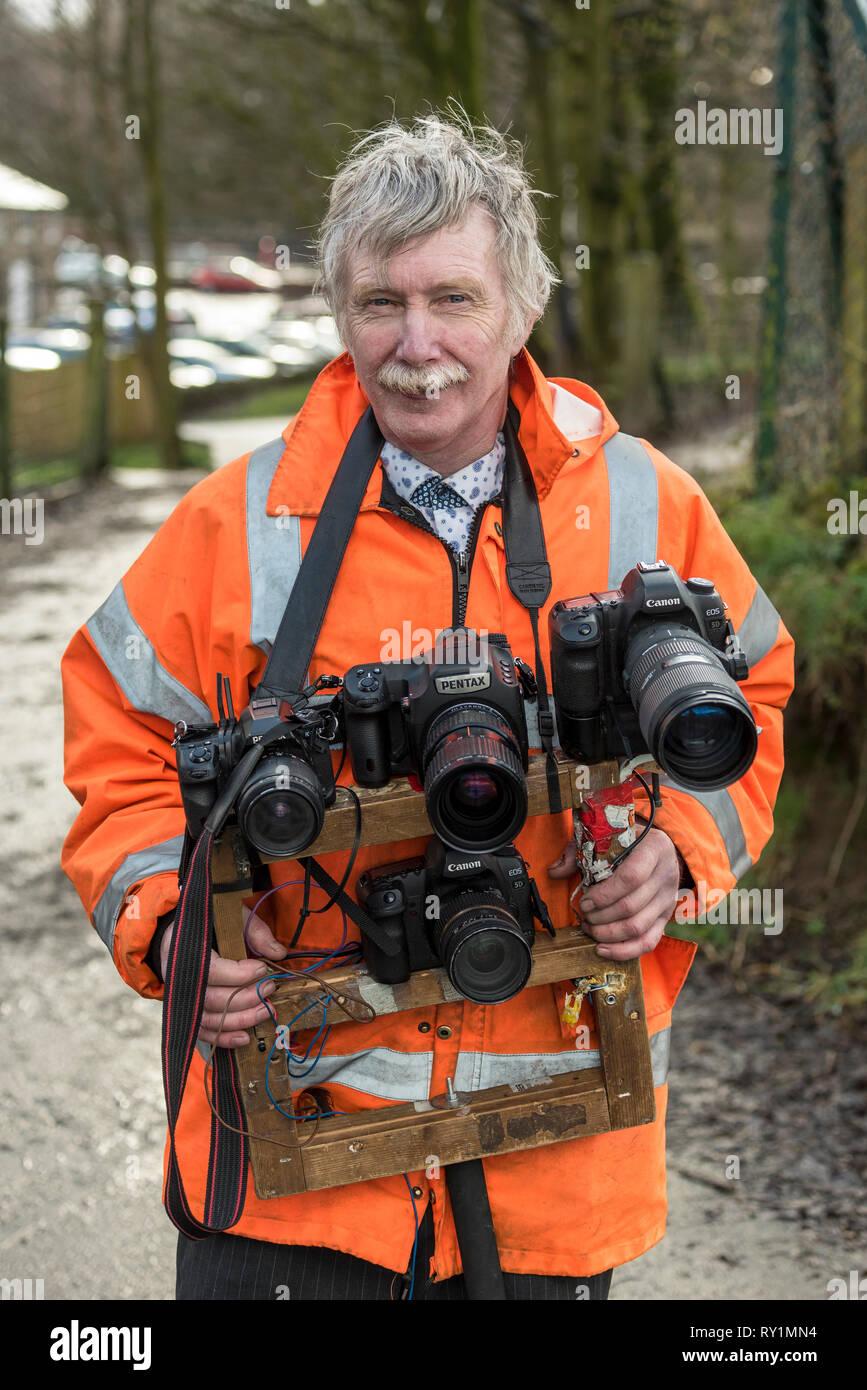East Lancashire railway molla gala vapore 2019. Fotografo Roger Kershaw. Immagini Stock