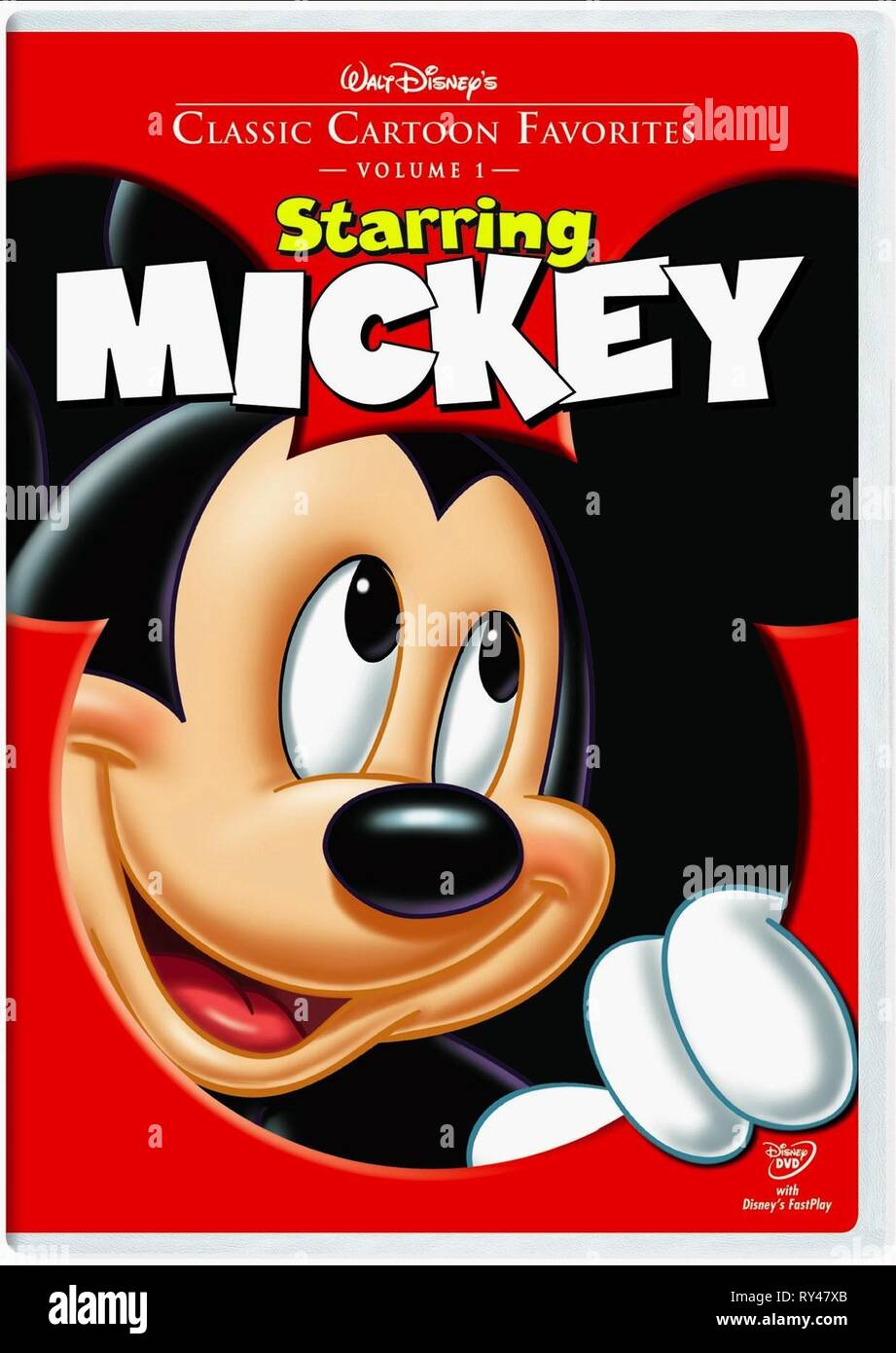 MICKEY MOUSE, CLASSIC Cartoon Preferiti: VOLUME 1 - Starring Mickey, 2005 Immagini Stock