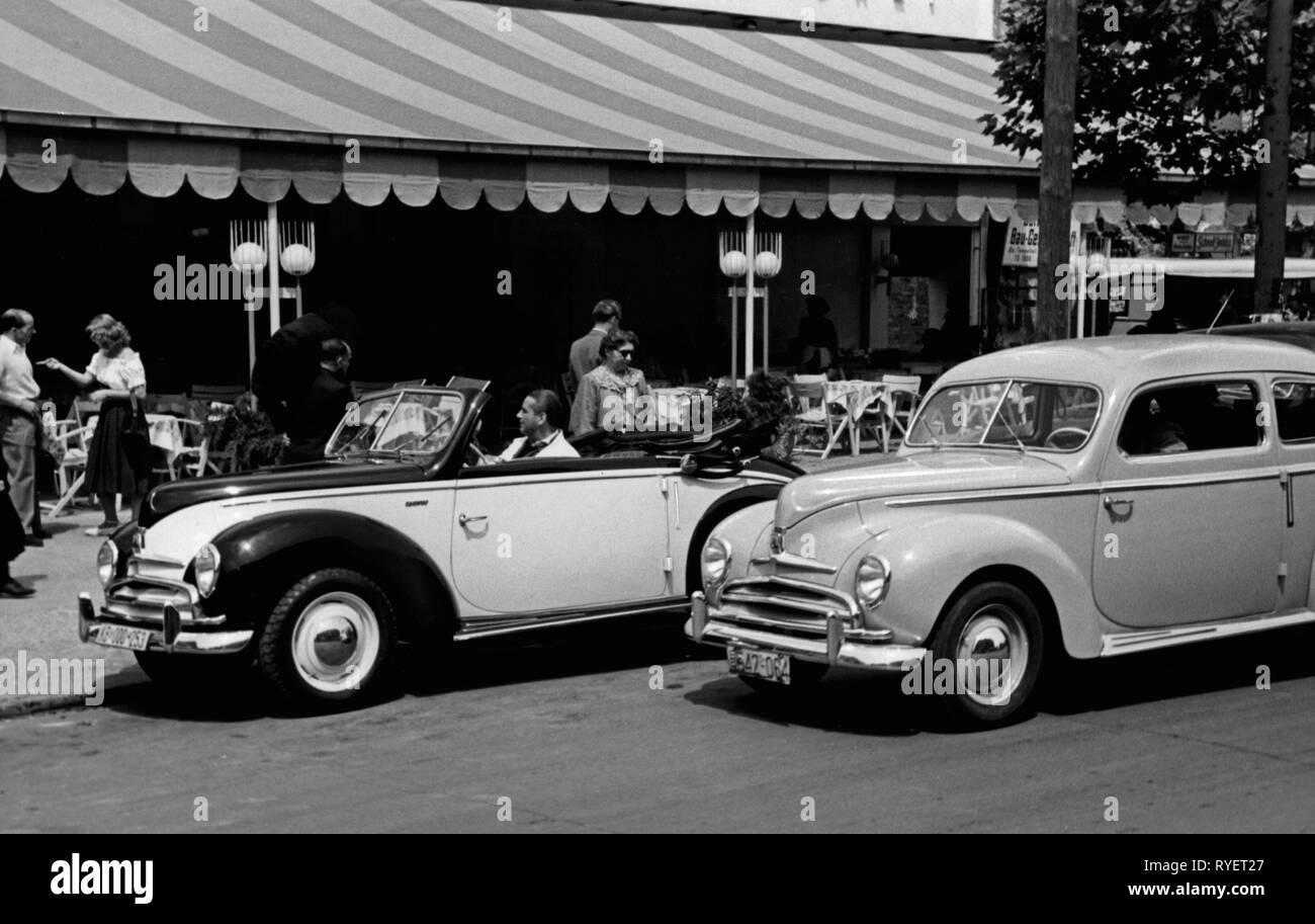 52550c7ab Trasporti / trasporto auto, varianti del veicolo, Ford Taunus G73una  cabriolet e limousine,