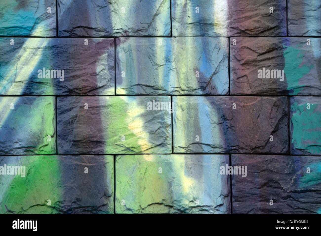 Bellissimo marmo viola pattern. L'arte astratta sfondo. Arte e oro. Ebru- Bagno turco della carta. Lusso naturale. Gouache pittura- può essere usato come un tr Immagini Stock