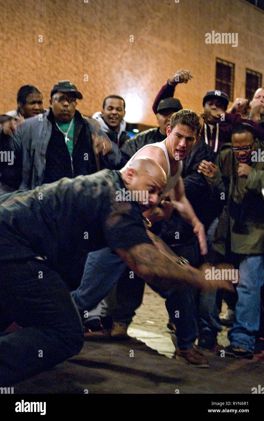 NERO,TATUM, combattimento, 2009 Immagini Stock