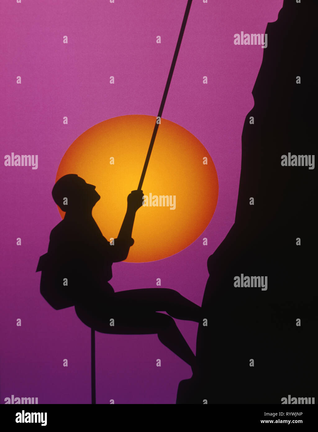 Graphic Design Rock Climbing Immagini Stock