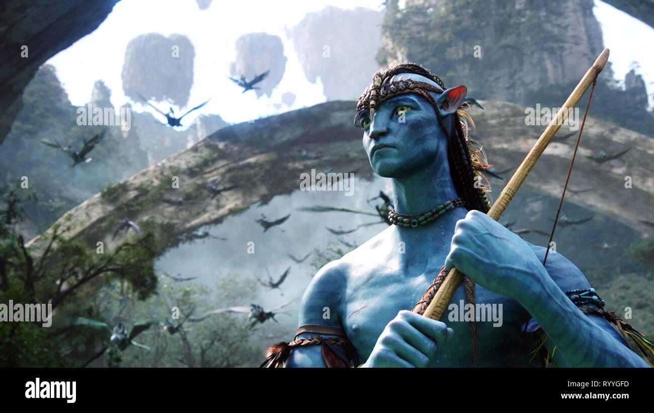 SAM WORTHINGTON, avatar, 2009 Immagini Stock