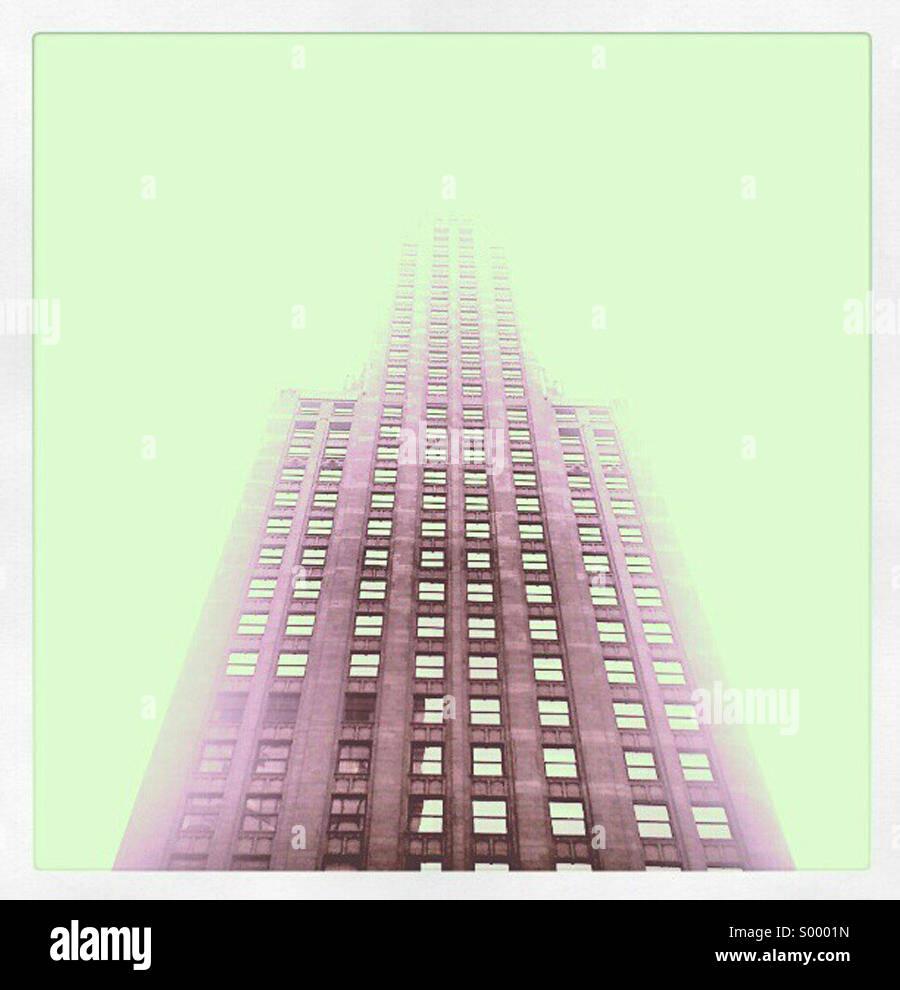 Edifici che assomigliano a astronavi - Chicago Immagini Stock
