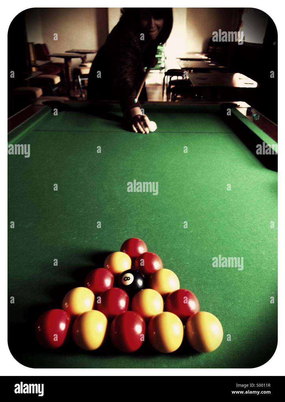 Piscina gioco Foto Stock