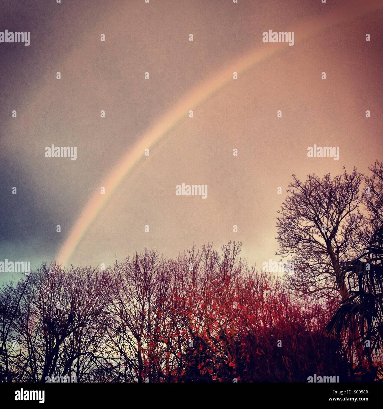 Arcobaleno di Londra Immagini Stock