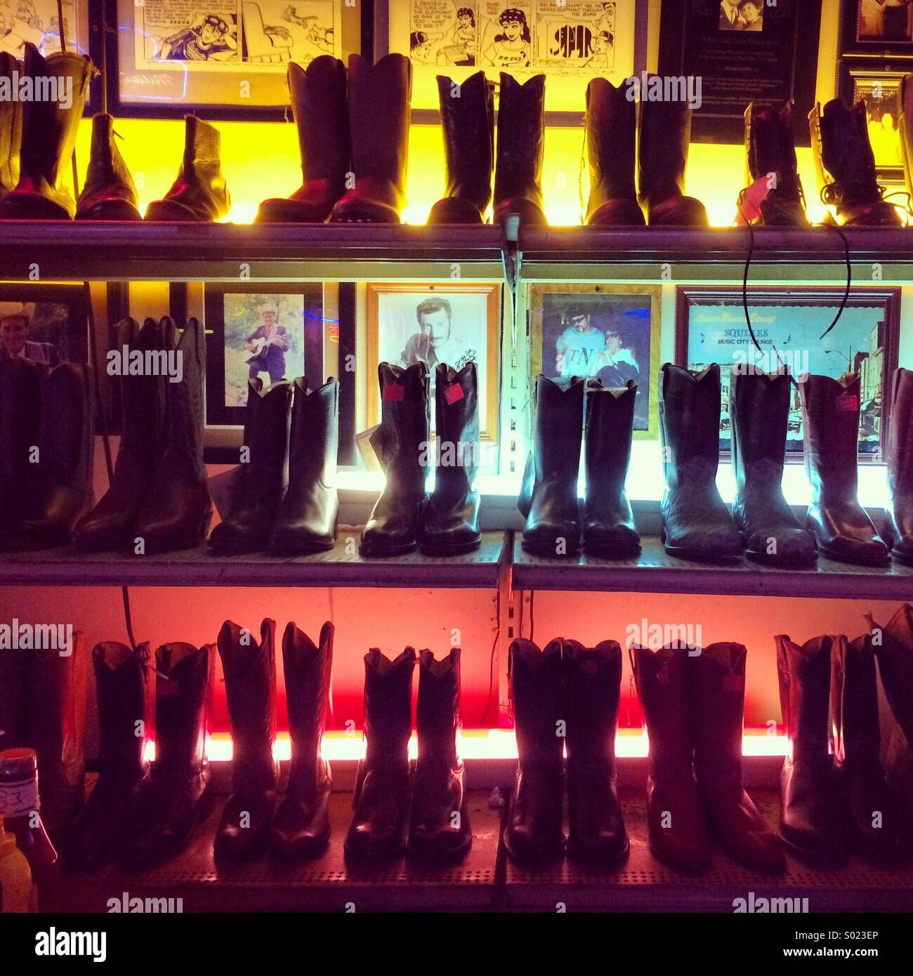 Roberts mondo occidentale, Nashville, Tennesse Immagini Stock