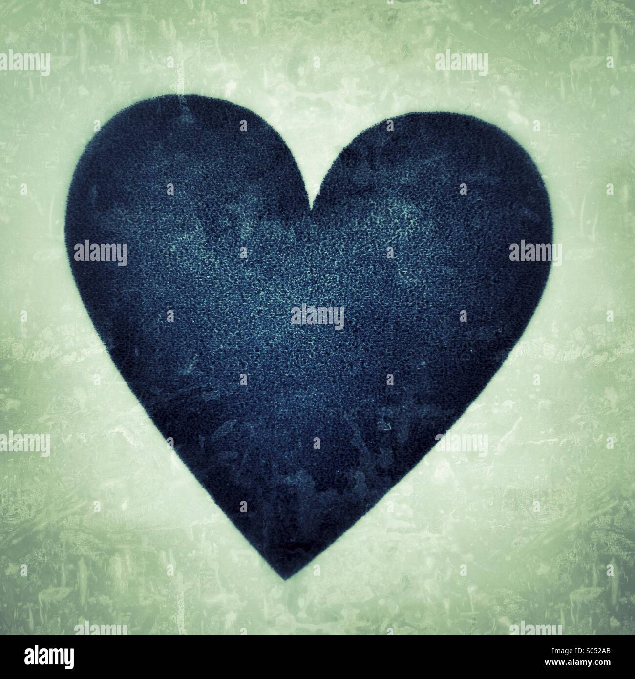Un cuore Immagini Stock