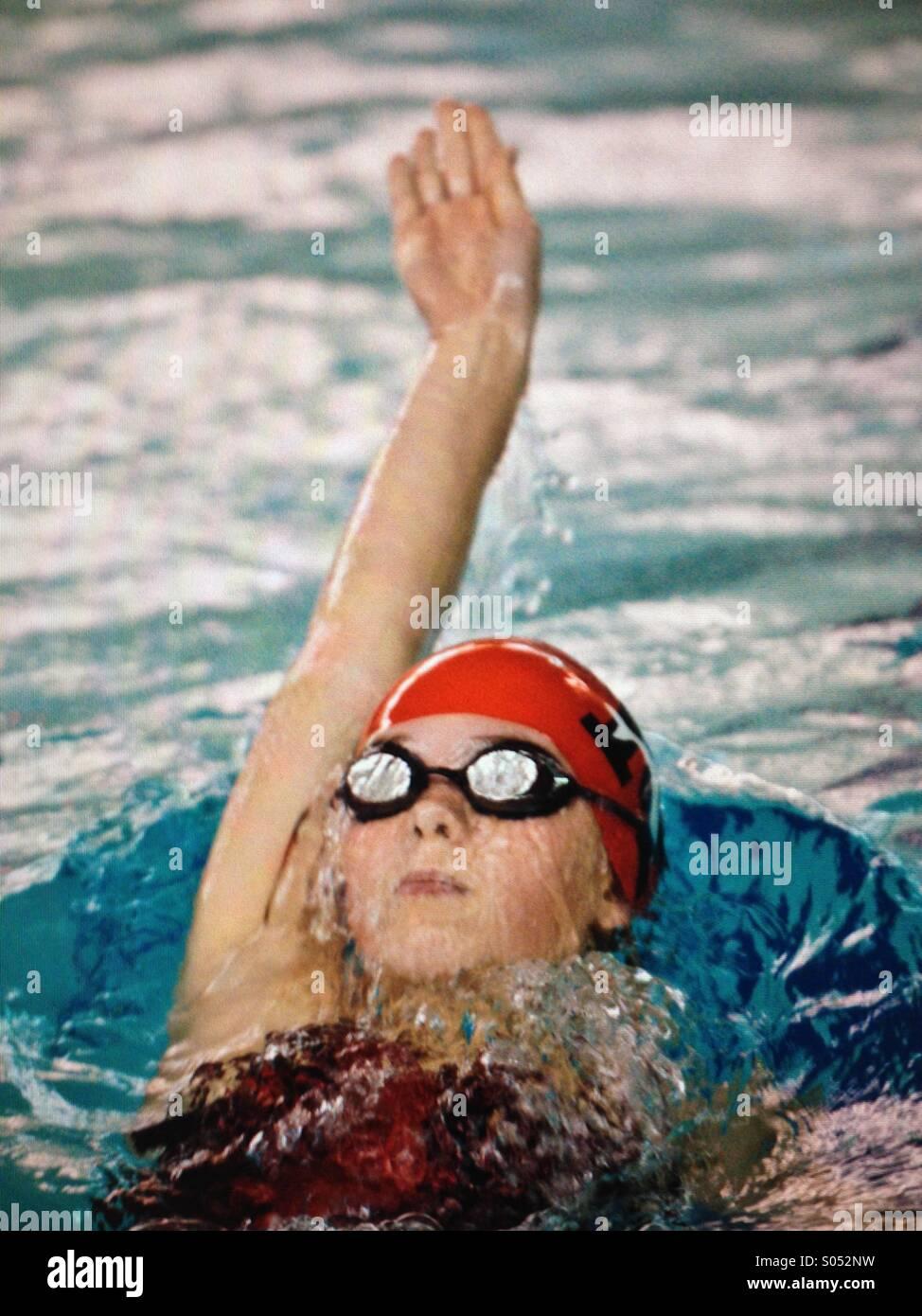 Nuoto Immagini Stock