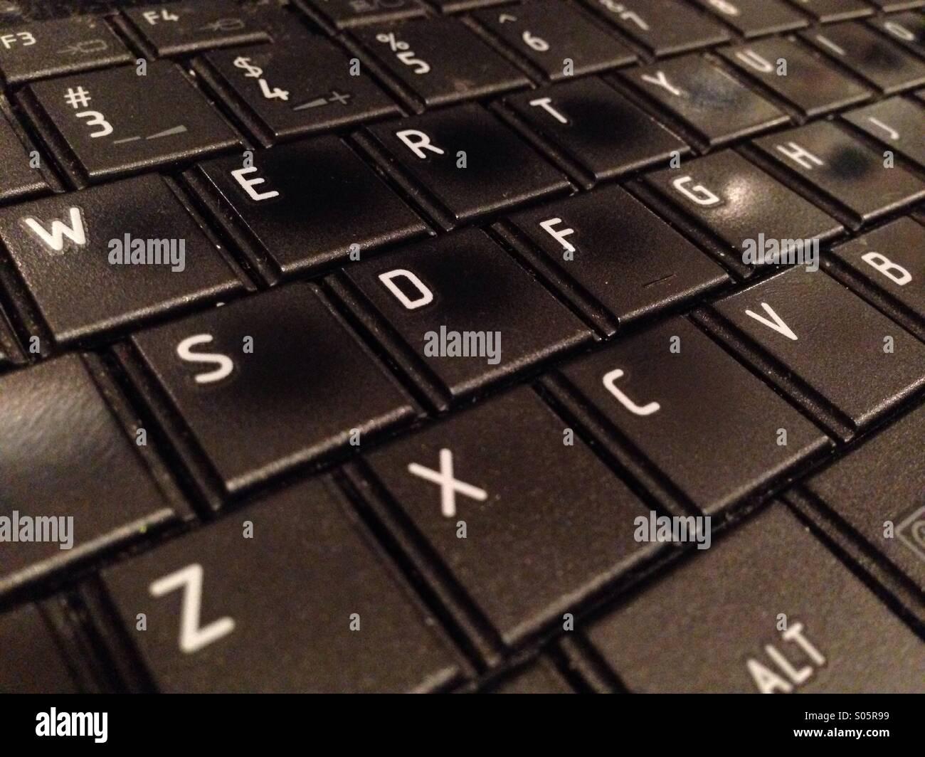 Tastiera del computer Immagini Stock