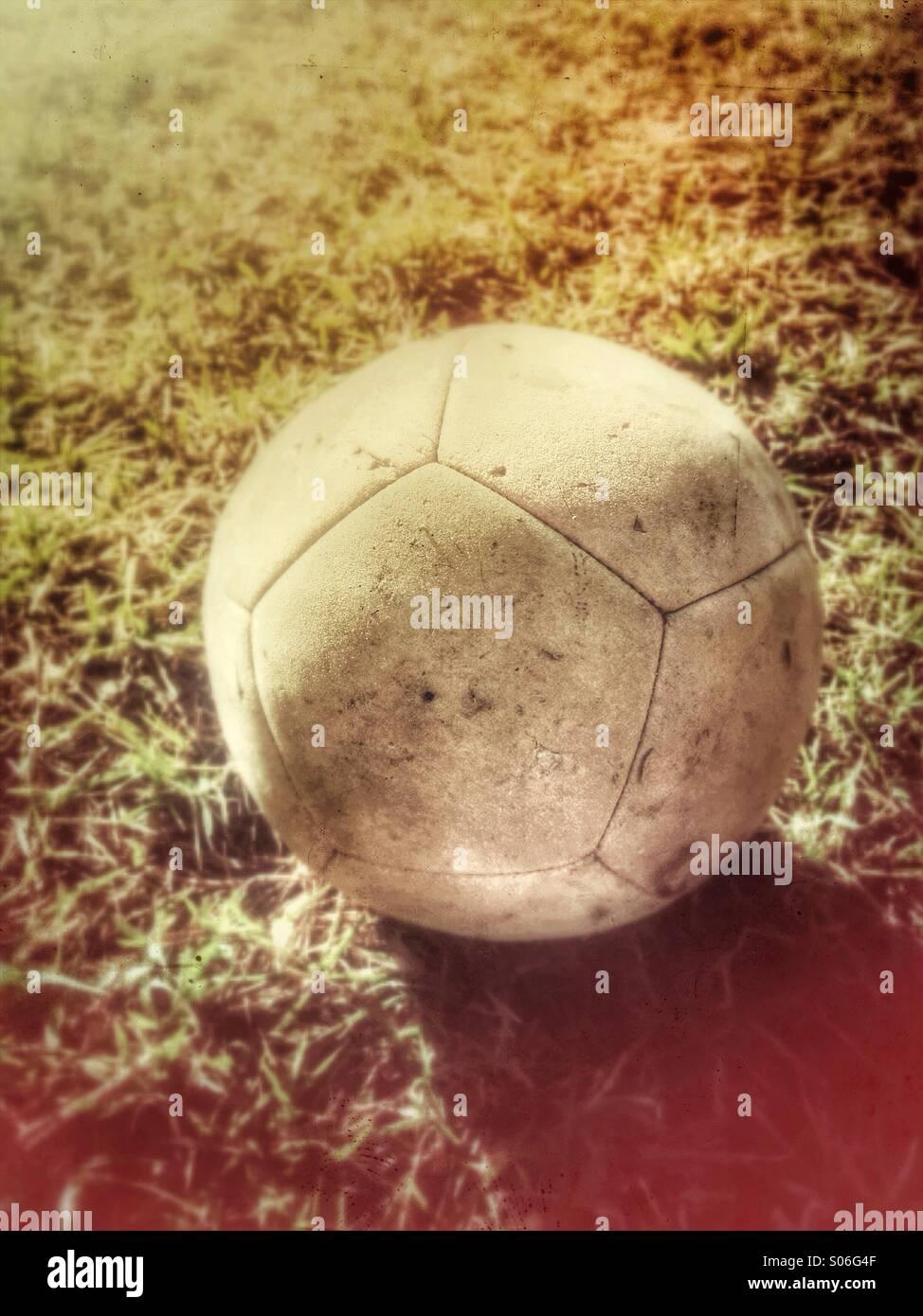 Pallone da calcio. Immagini Stock