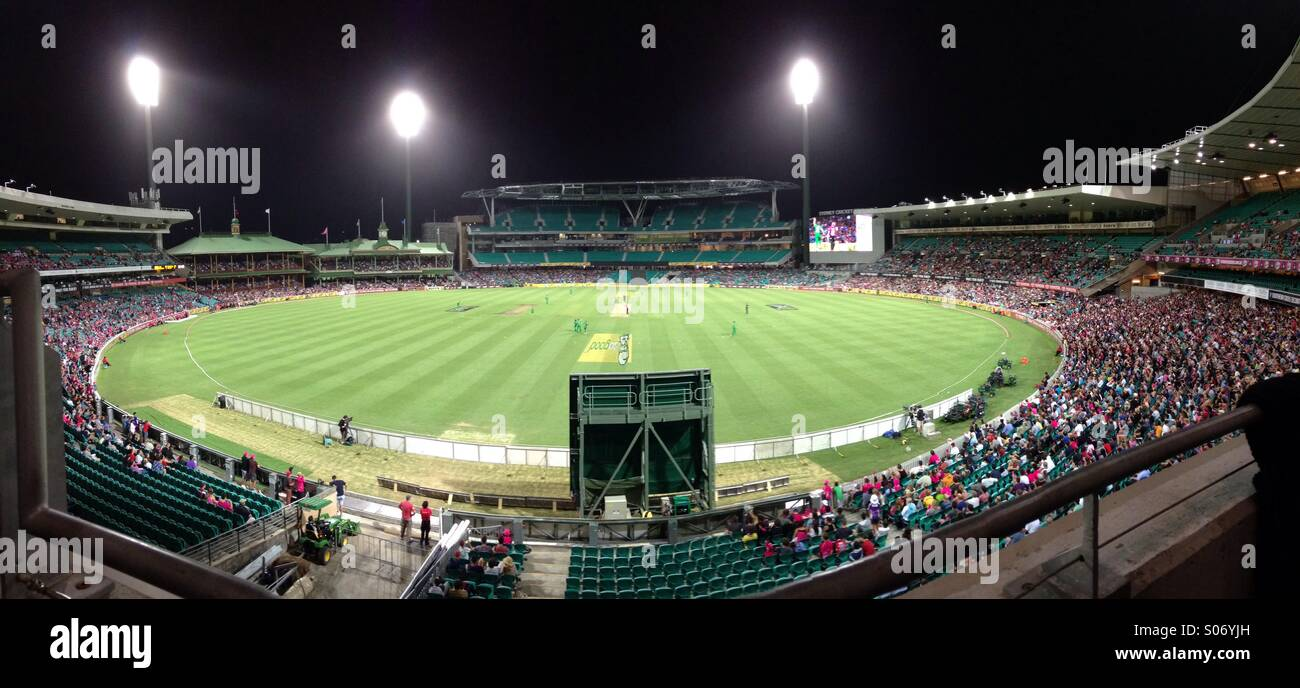 SCG Sydney Cricket Ground Immagini Stock