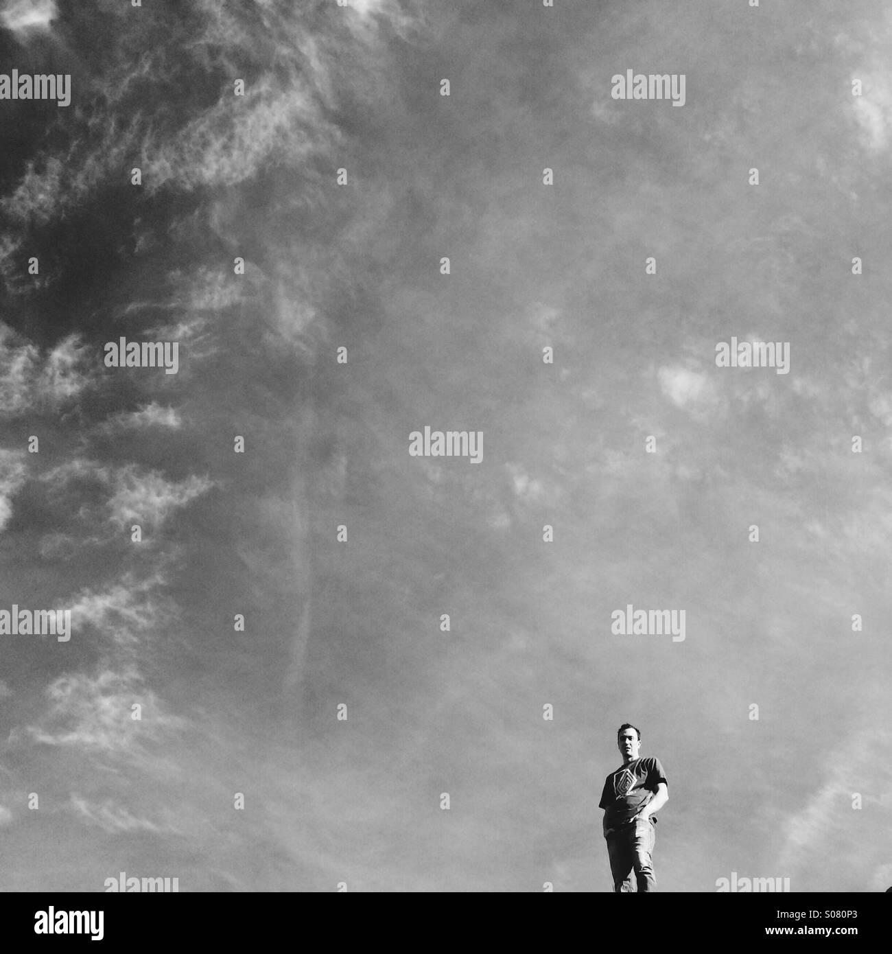 Cielo di Moab Foto Stock