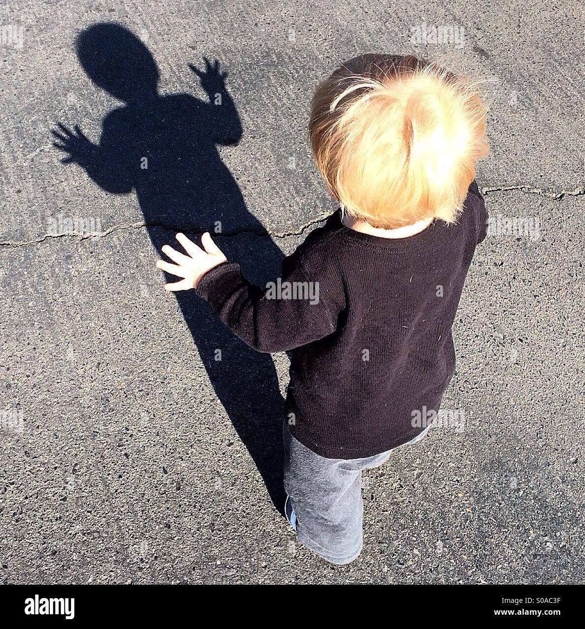 Shadow Dance Immagini Stock