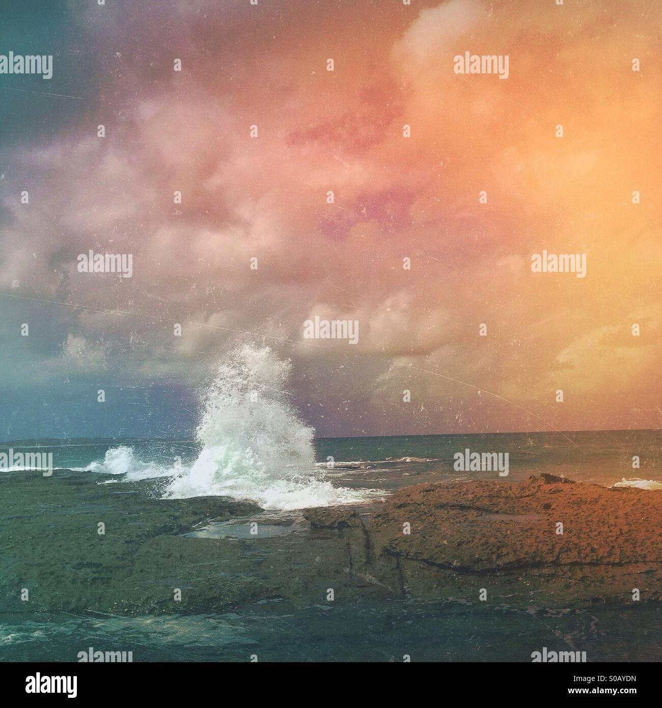 Oceani Foto Stock