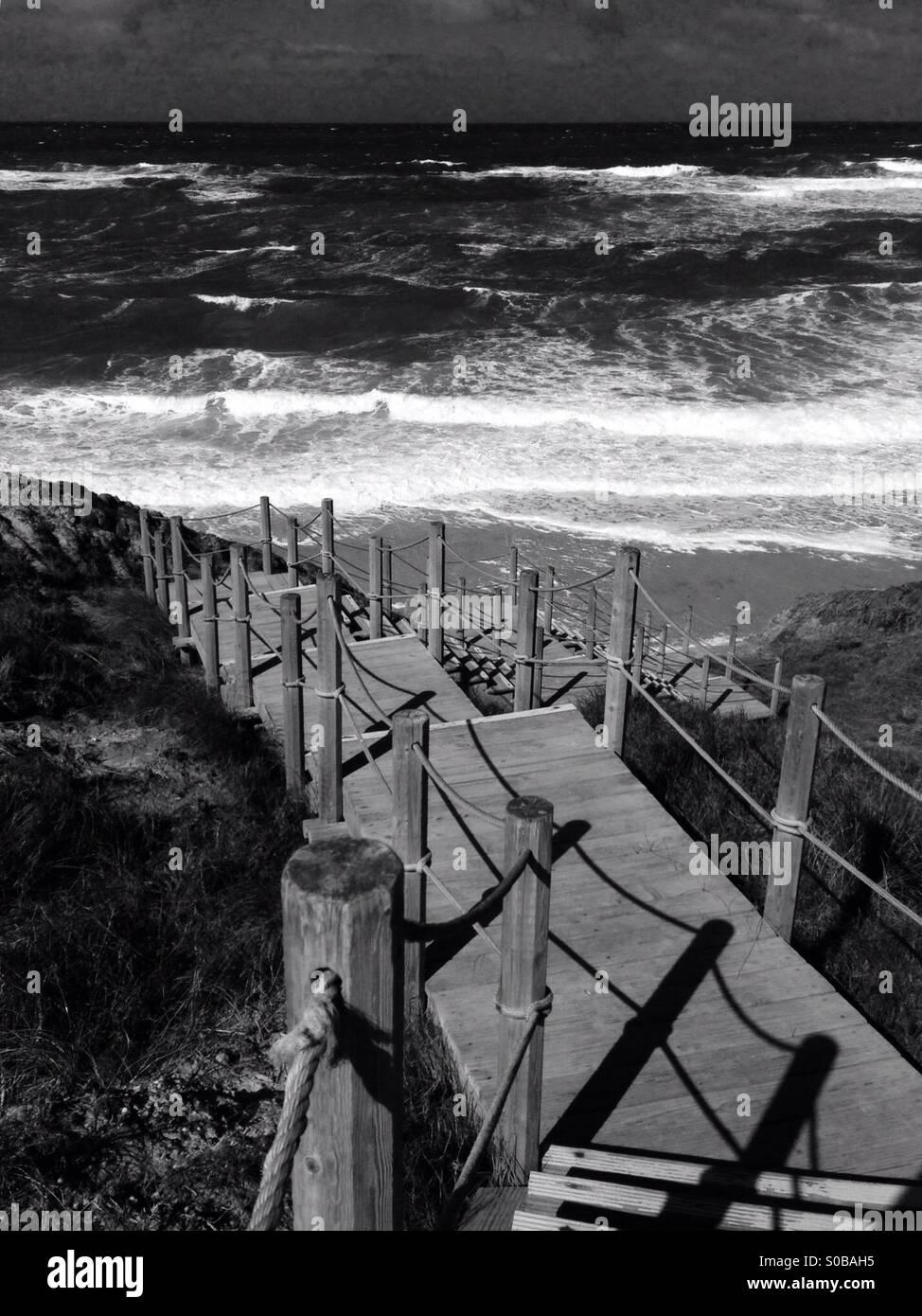 Mar português Immagini Stock